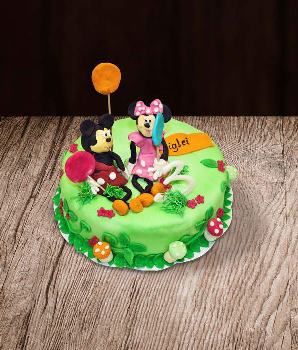 Tortas Mickey Minnie mouse