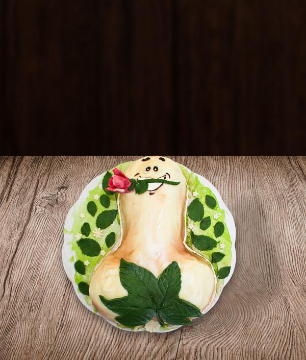 Mergvakario tortas penis