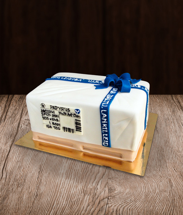 Tortas dovana ant paletės
