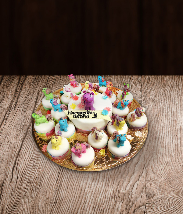 Tortas ir pyragaičiai mano mažasis ponis (My Little Pony)