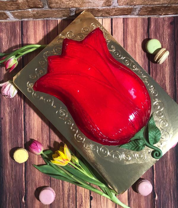 Tortas gėlė
