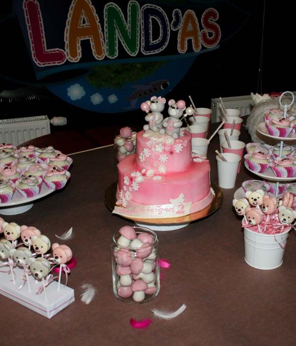 CAKE POPSAI Meškiukai (pyragaičiai ant pagaliuko)