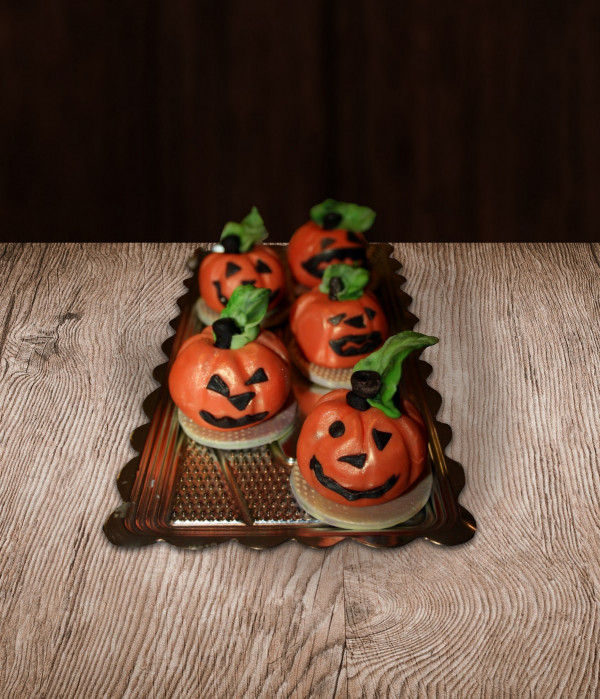Helovino papuošimas moliūgai