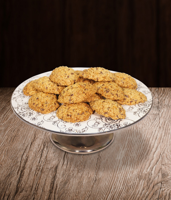 Sausainiai Avižiniai (su sėmenim)